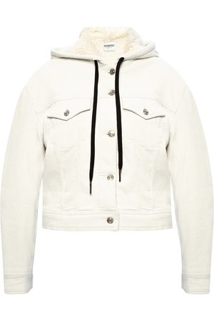 Iceberg Hooded denim jacket