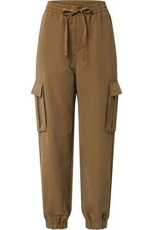Urban classics Cargo trousers 'Ladies Viscose Twill Cargo Pants