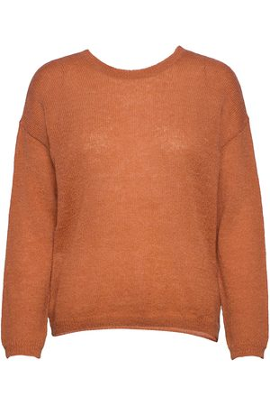 Lounge Nine Allyssaln Knit Knot Pullover Rws Stickad Tröja Orange