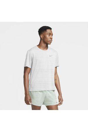 Nike Man Hoodies - Löpartröja Dri-FIT Miler för män