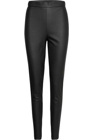 Vero Moda Vmjanni Hw Pu Legging Noos Leather Leggings/Byxor