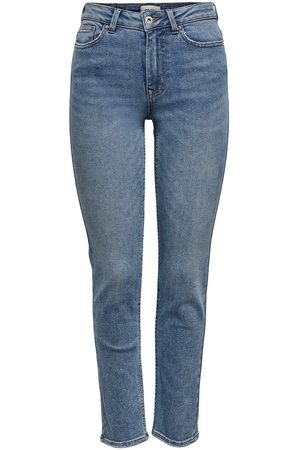 Only Onlerica Life Mid Ankle Straight Fit-jeans Kvinna