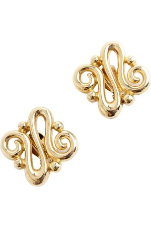 Givenchy Swirl clip on earrings