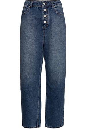 WoodWood May Jeans Raka Jeans Blå