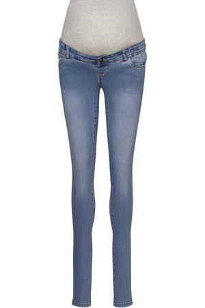 Mama Licious Kvinna Slim - Mlono Slim Jeans A. Noos Jeans Mom Jeans