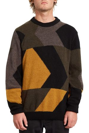 Volcom Man Stickade tröjor - Williekearl Pullover golden brown
