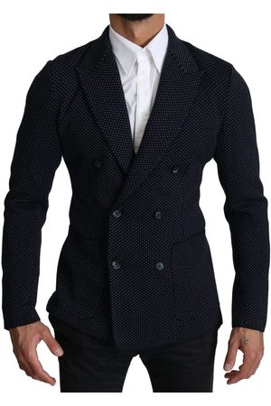 Dolce & Gabbana Dotted Double Breasted Blazer