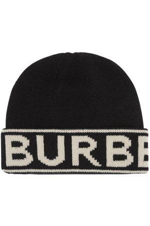 Burberry Kvinna Mössor - Logo Cashmere Knit Beanie