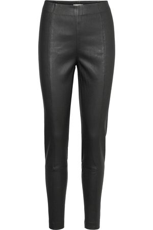 Part Two Tessapw Stretch Pa Tessapw Leather Leggings/Byxor