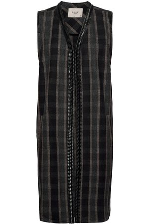 Pulz jeans Kvinna Västar - Pzlorin Waistcoat Premium Quality Knitwear Vests-indoor