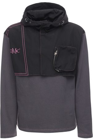 DMCKAL Two Layer Cotton Sweatshirt Hoodie