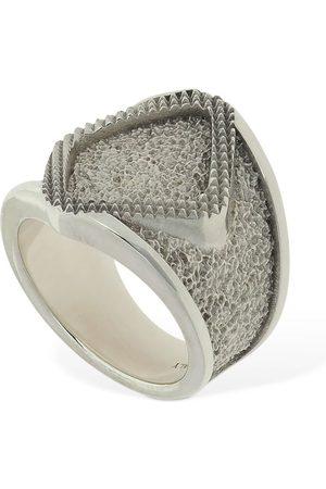 Bottega Veneta Kvinna Ringar - Rhombus Thick Ring