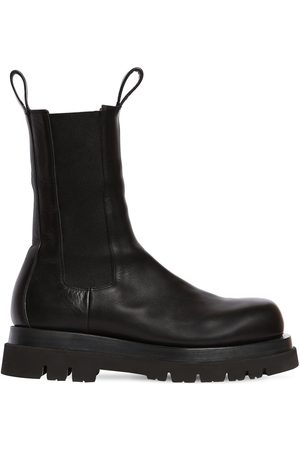 Bottega Veneta Bv Lug High Leather Chelsea Boots
