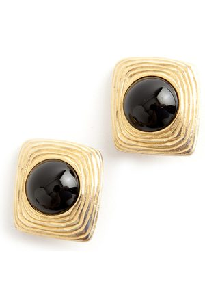 Givenchy Square clip on earrings
