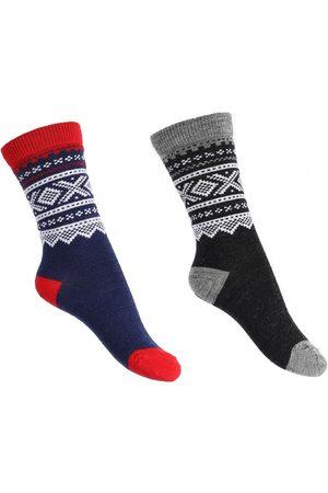 Marius Kids Strumpor - Kids Thin Wool Socks 2-pack