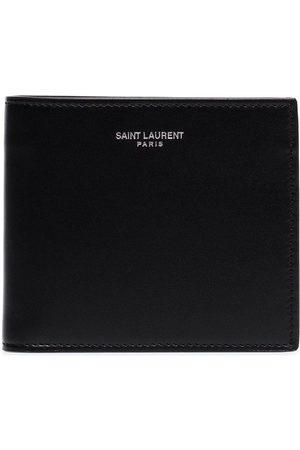 Saint Laurent Vikt plånbok med präglad logotyp