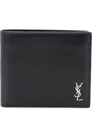 Saint Laurent Vikt plånbok med logotypplakett