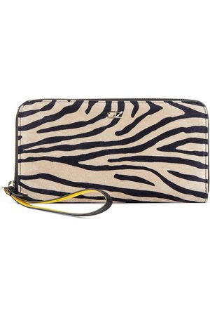 Giuseppe Zanotti Paula zebramönstrad plånbok