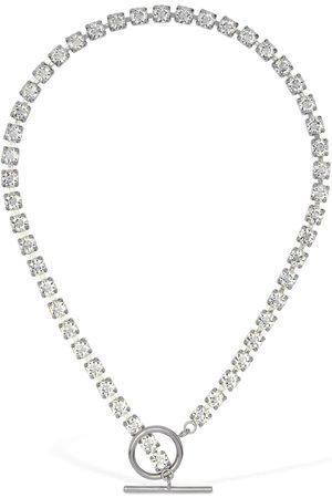 Isabel Marant Melting Crystal Choker Necklace