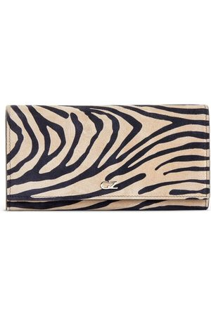 Giuseppe Zanotti Selene zebramönstrad plånbok
