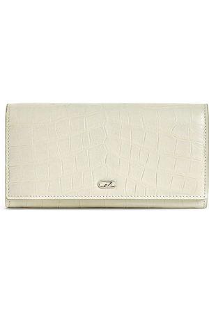 Giuseppe Zanotti Selene plånbok med krokodileffekt