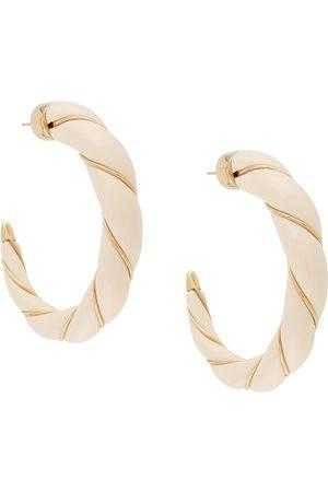 Aurélie Bidermann Diana örhängen i 18K guld