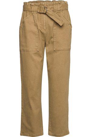 Soft Rebels Uma 7/8 Pant Byxa Med Raka Ben Brun