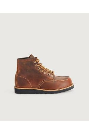 Red Wing Man Boots - Boots 6-inch Classic Moc Toe Koppar