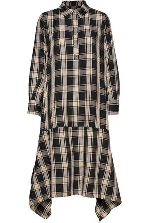 MOTHER OF PEARL Kvinna Mönstrade klänningar - Whitney Dress Knälång Klänning Multi/mönstrad