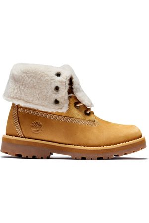 Timberland Stövlar - Kid's Courma Shearling Roll Top