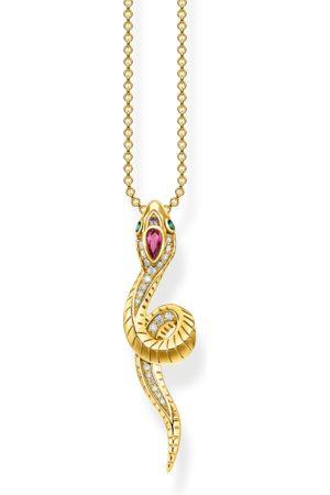 Thomas Sabo Kvinna Halsband - Halsband orm guld