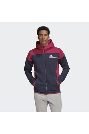 adidas Man Hoodies - Z.N.E. AEROREADY Full-Zip Sweatshirt