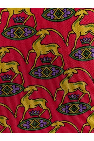 Hermès Man Slipsar - Pre-owned animal pattern tie