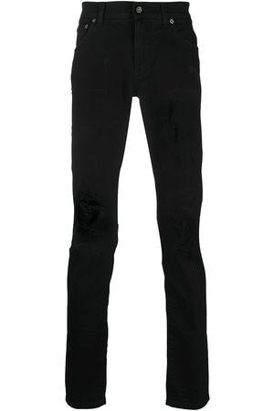 Dolce & Gabbana Man Slim - Logo patch pocket jeans