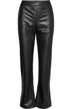 Culture Cubecky Pu Pants Leather Leggings/Byxor
