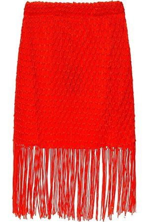 AllSaints 'Jesa' tasseled skirt