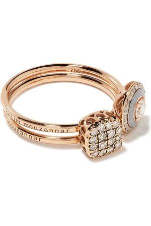 SELIM MOUZANNAR Diamantring i 18K roséguld