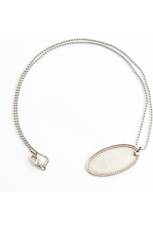Gucci Oval Plate necklace