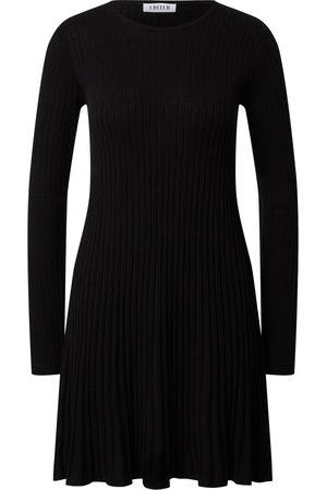 EDITED Kvinna Stickade klänningar - Stickad klänning 'Katrin