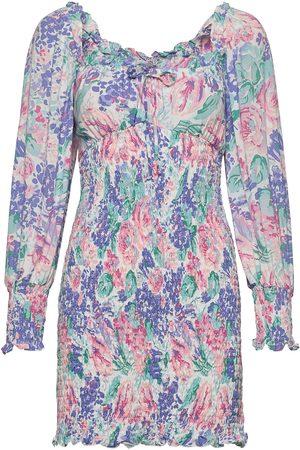 FAITHFULL THE BRAND Kvinna Festklänningar - Cosima Mini Dress Kort Klänning Grön