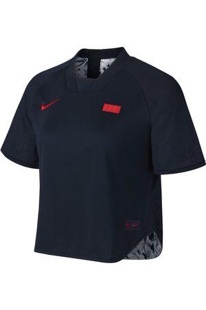 Nike Vändbar kortärmad fotbollströja FFF för kvinnor