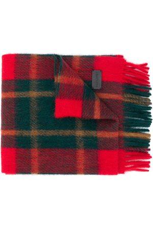 Saint Laurent Skotskrutig halsduk