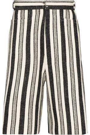 Pronounce Stripe leisure bermuda shorts