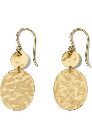 Ippolita 18kt yellow gold Crinkle Snowman earrings