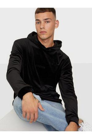 Ciszere Sami velour hoodie - With logo Tröjor Black