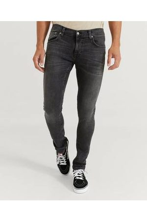 Nudie Jeans Man Skinny - Jeans Tight Terry Fade To Grey