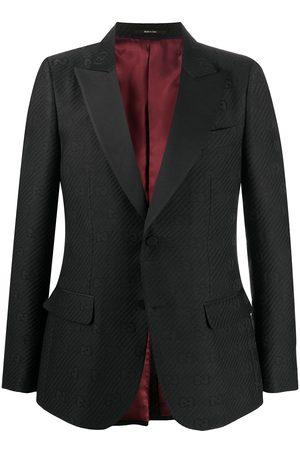 Gucci Man Kavajer - Blazer med monogram