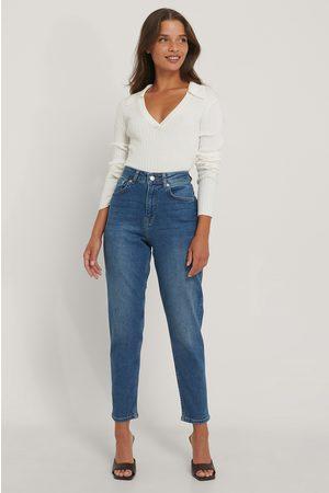 NA-KD Kvinna Mom - Mom-Jeans