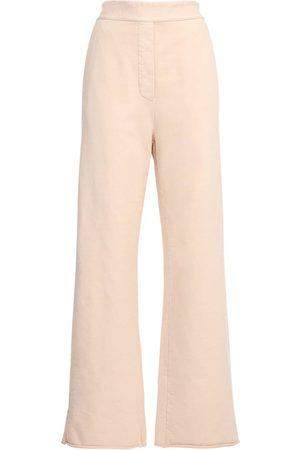 MM6 MAISON MARGIELA Cotton Wide Leg Sweatpants