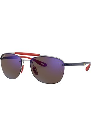 Ray-Ban Man Solglasögon - Rb3662M Scuderia Ferrari Collection Polarized